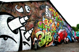 fresque PLOO and friends