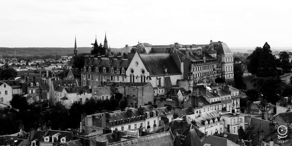 Aérien Ploo Blois Chateau