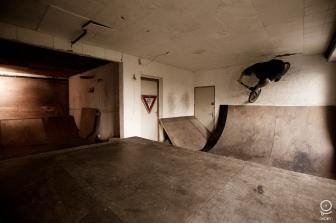 skatepark BMX indoor Aérien Ploo