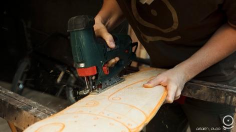 Aérien PLOO scie skateboard custom10