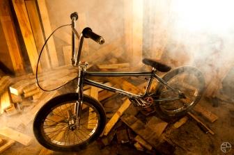 BMX Gangster fit bike S&M Profile odyssey 55