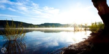 Lac du Salagou Fog Studio3