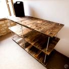 étagère palette tiges filetees diy removal creation meubles507