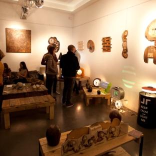 Aérien PLOO / Removal Création mobilier / Art JL / SculpaperShop salle : Le Delta