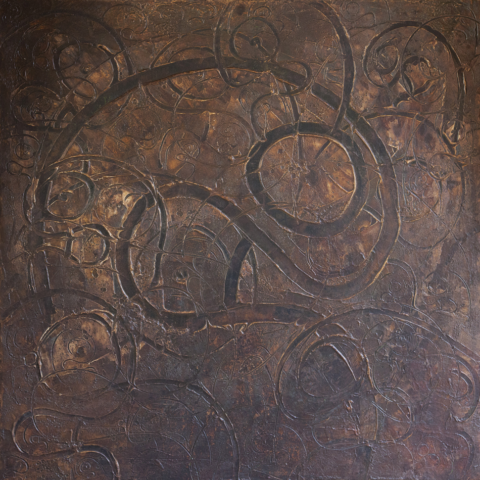 100x100cm Mixed technique on canvas 2015