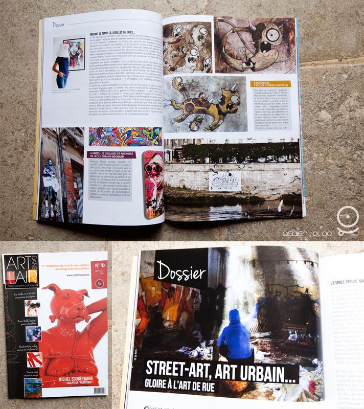 art dans l'air aérien ploo street art magasine article
