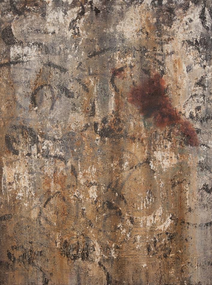 97x137cm Mixed technique on canvas 2014
